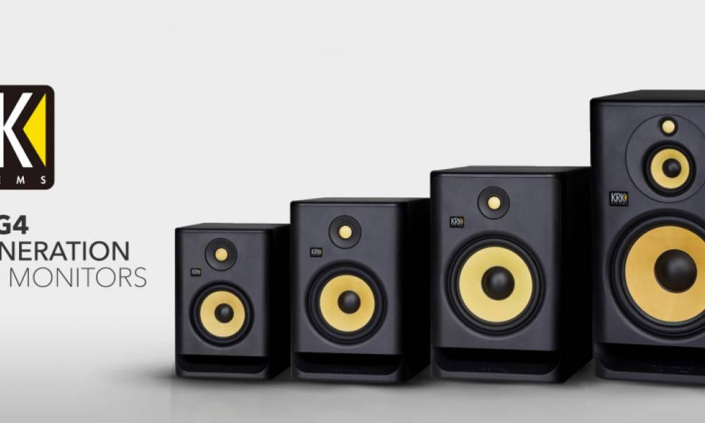 KRK G4 - новое поколение «студийного Bass Boosted»