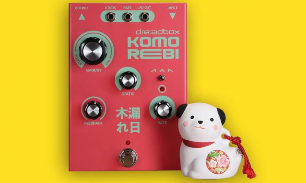 Komo Rebi и Hyphosis: аналоговые эффекты от Dreadbox