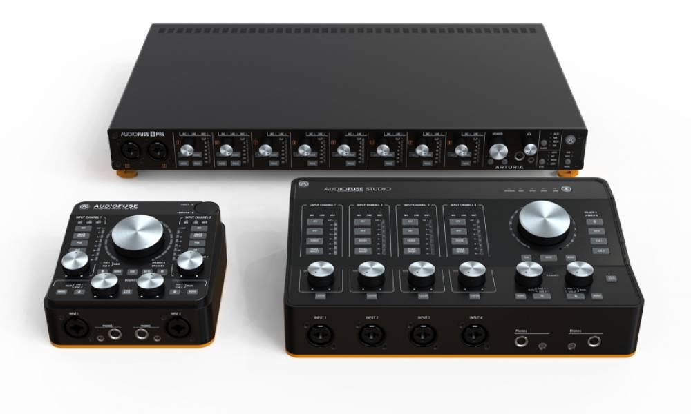 AudioFuse Studio и AudioFuse 8Pre: пополнение семейства аудиоинтерфейсов от Arturia