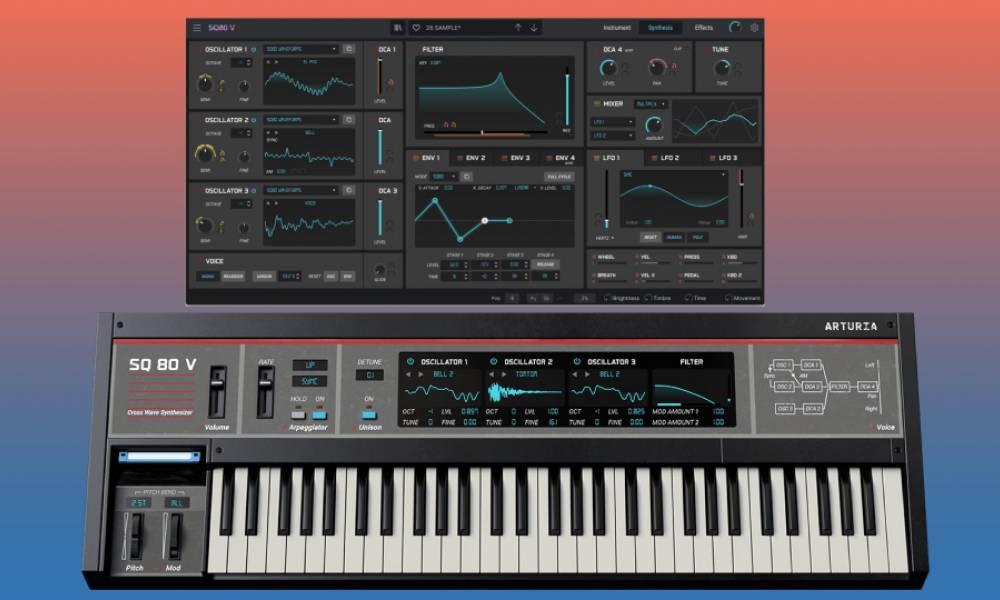 Arturia SQ-80 V: виртуальная копия гибридного синтезатора из 80-х