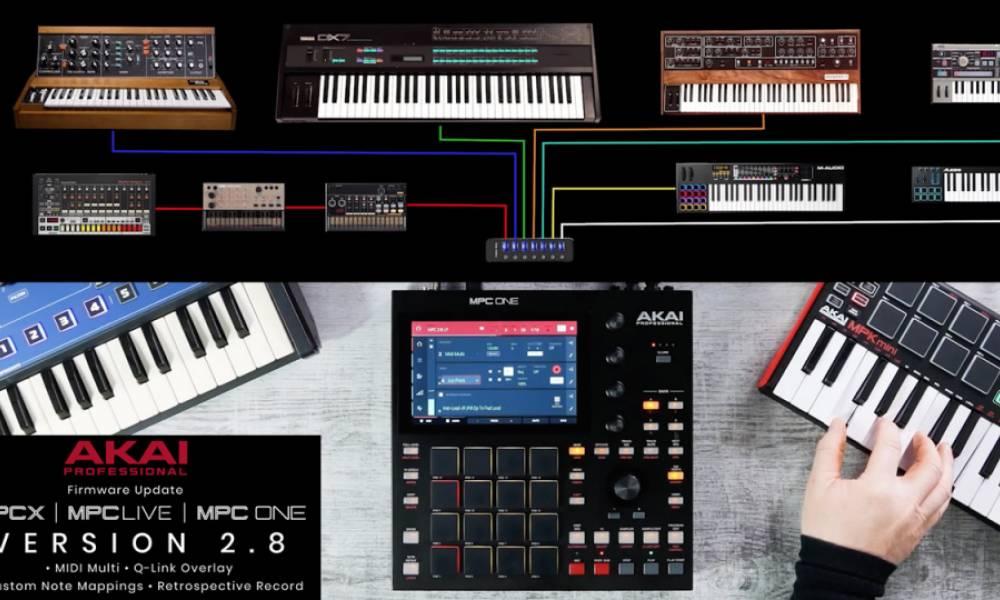 MPC 2.8 - новые MIDI-возможности современных грувбоксов от AKAI