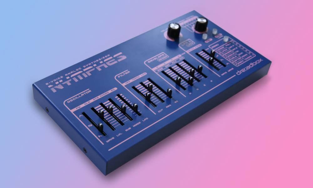 Dreadbox Nymphes - полифонический аналоговый синтезатор за 500 евро!