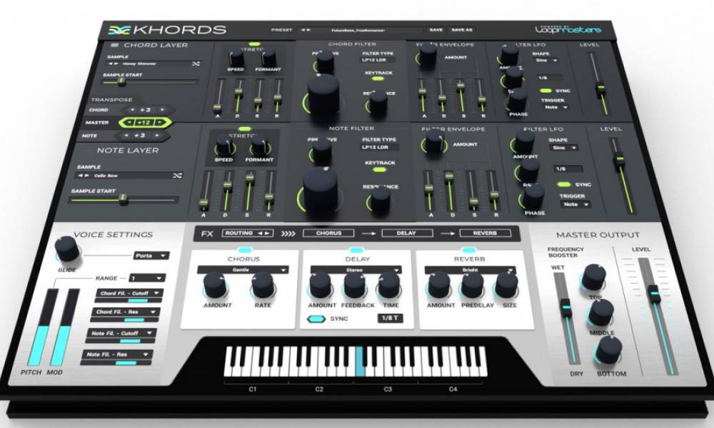 Loopmasters Khords: аккордовый сэмплер в духе 90-х