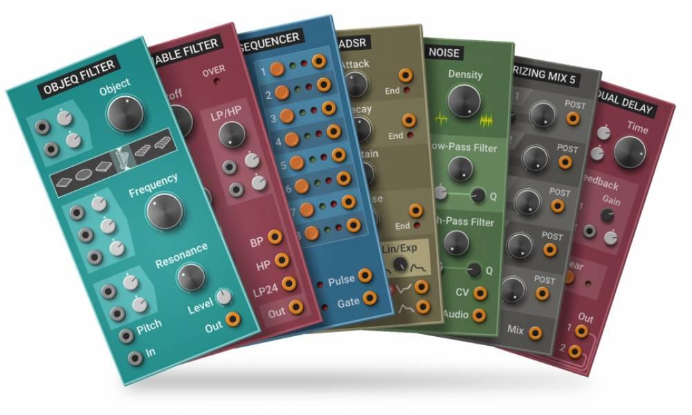 Multiphonics CV-1: модульный синтезатор с пресетами