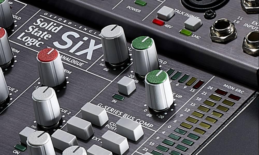 SiX: карманный микшер от SSL