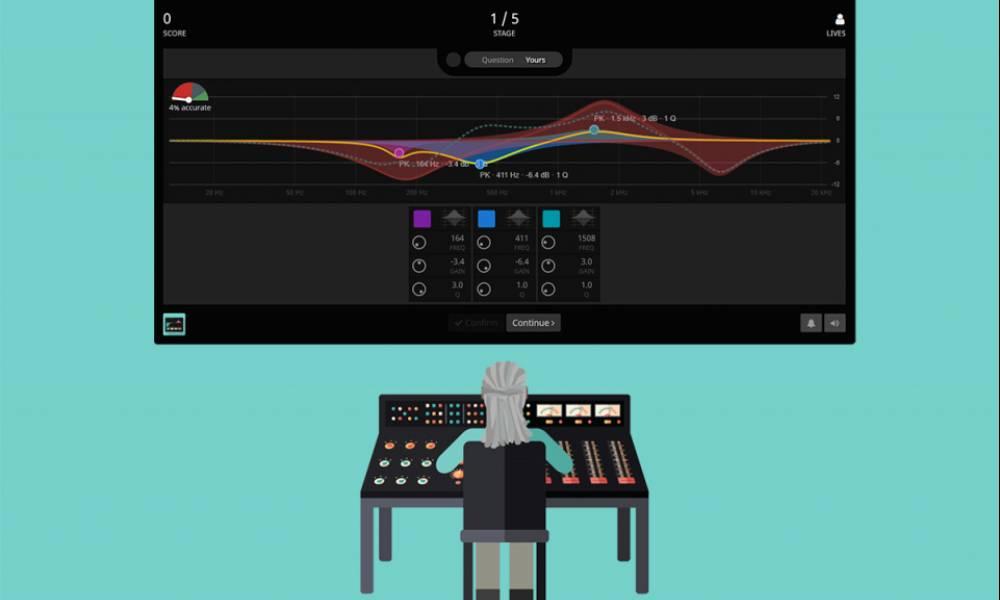 EQPlayground - сервис для тренировки звукорежиссерского слуха от SoundGym