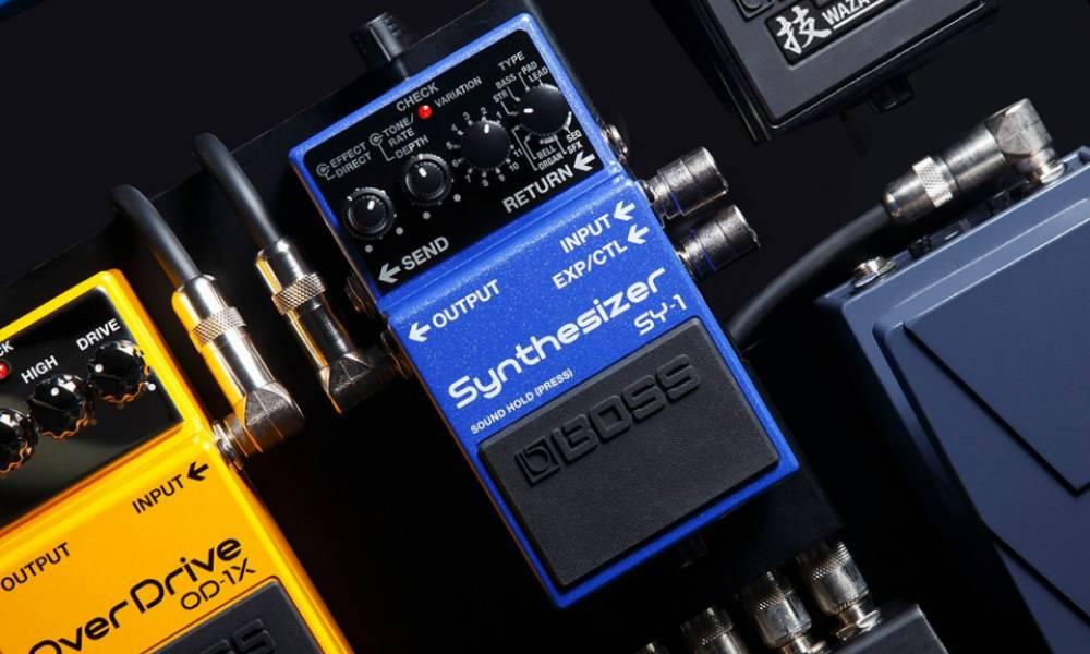 BOSS SY-1: гитарный синтезатор