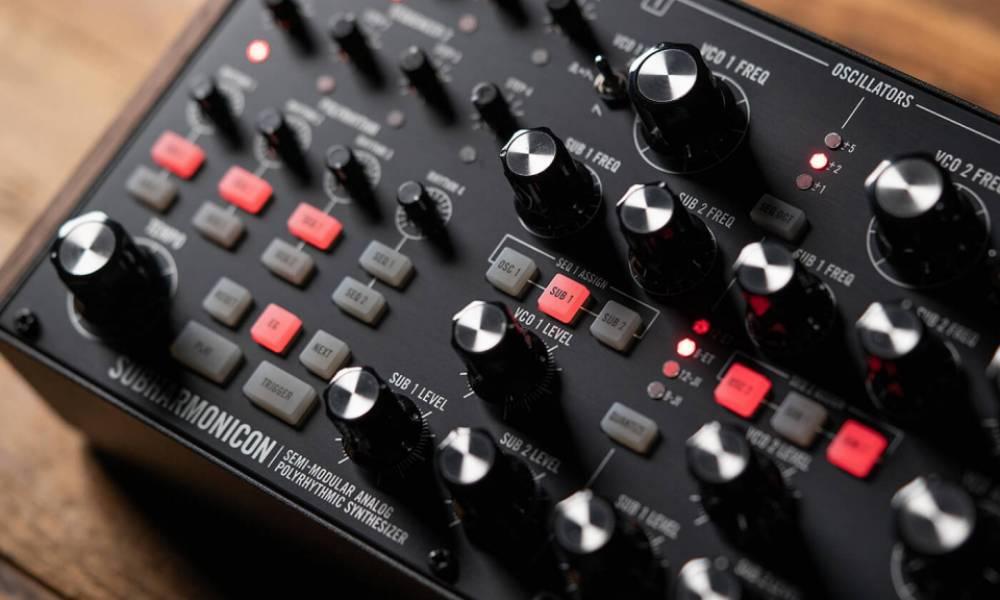 Moog Subharmonicon будет продаваться серийно!