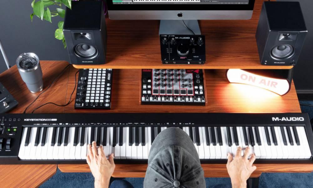 M-Audio обновили клавишный контроллер KeyStation 88 до версии MK3