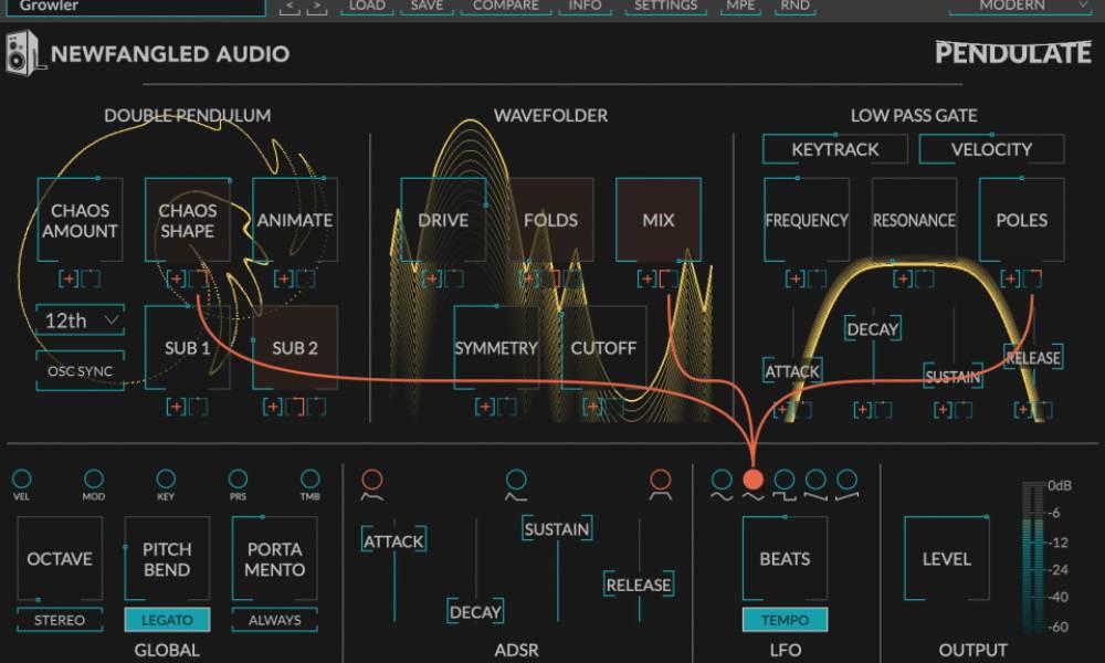 Pendulate - бесплатный софтовый синтезатор от Eventide