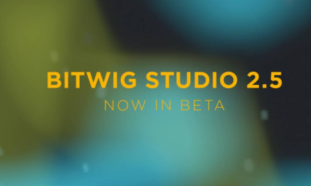 Bitwig Studio 2.5 (Beta)