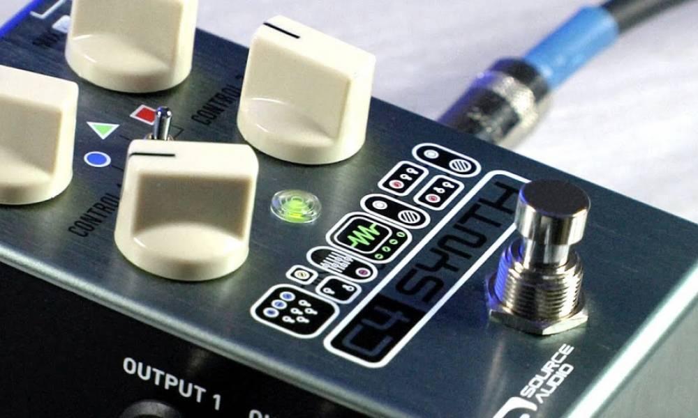 C4 Synth превращает гитару в модульный синтезатор