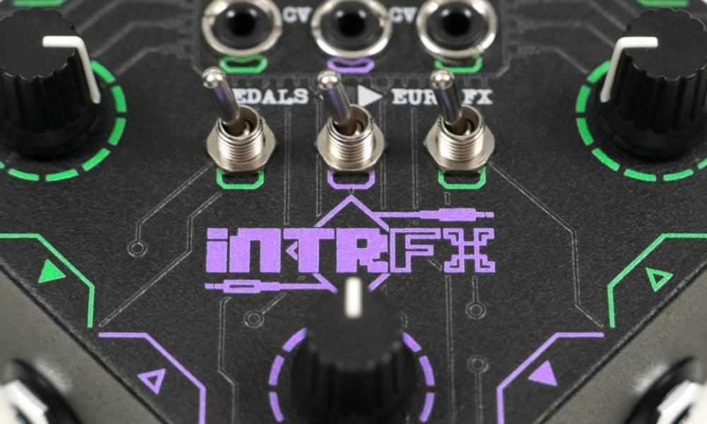 Boredbrain INTRFX: CV/Gate обработка с помощью гитарных педалей