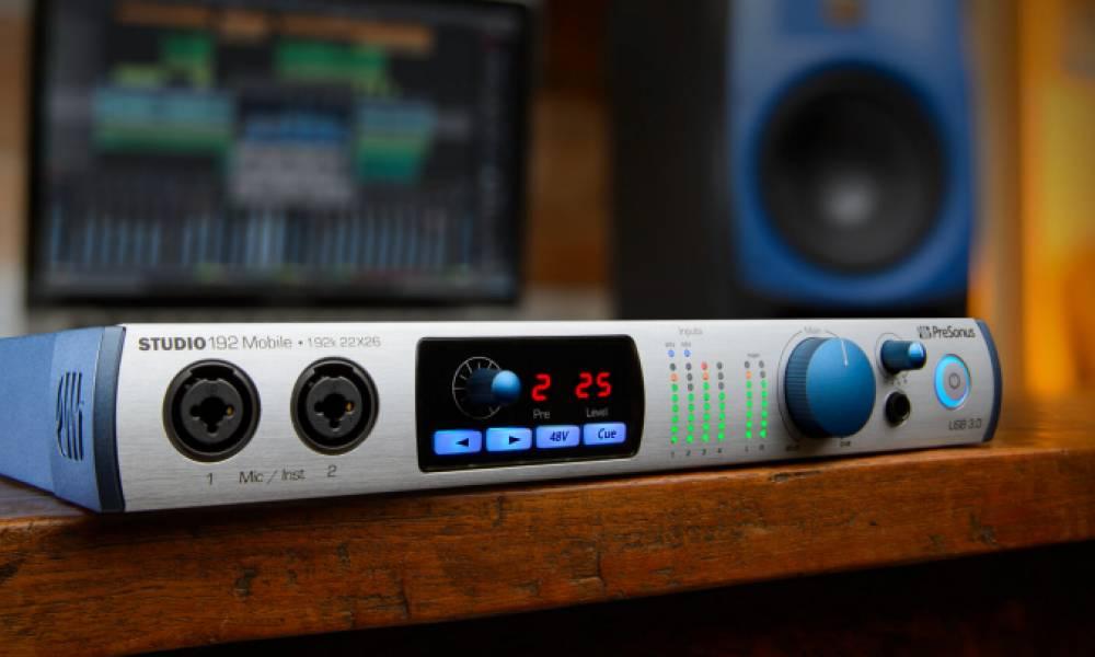 USB-C аудиоинтерфейсы Studio от PreSonus