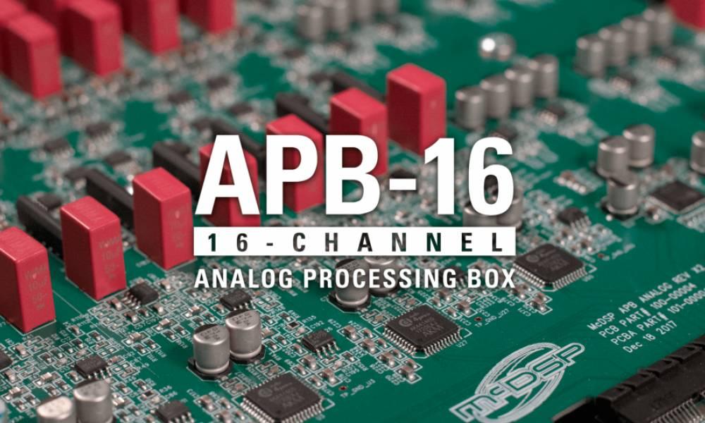 McDSP APB 16: аналоговый DSP-процессор с софтовым управлением