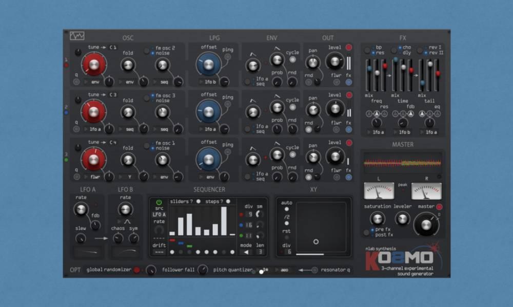 Kosmo - виртуальный west coast синтезатор от nLab Synthesis