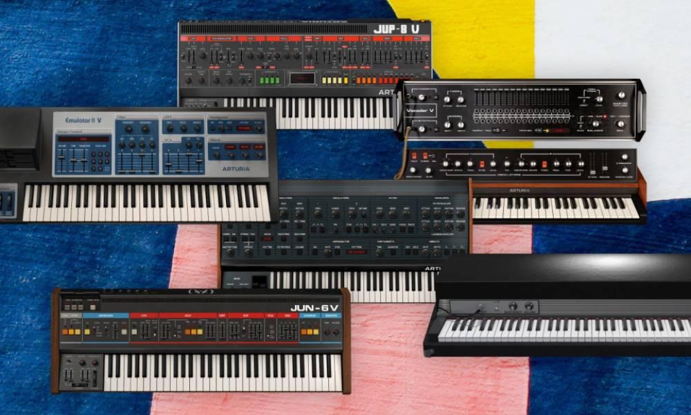 V Collection 8 - обновление пакета софтовых синтезаторов от Arturia