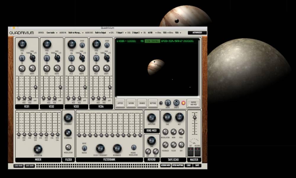 """Quadrivium - """"космический"""" синтезатор от Giorgio Sancristoforo"""