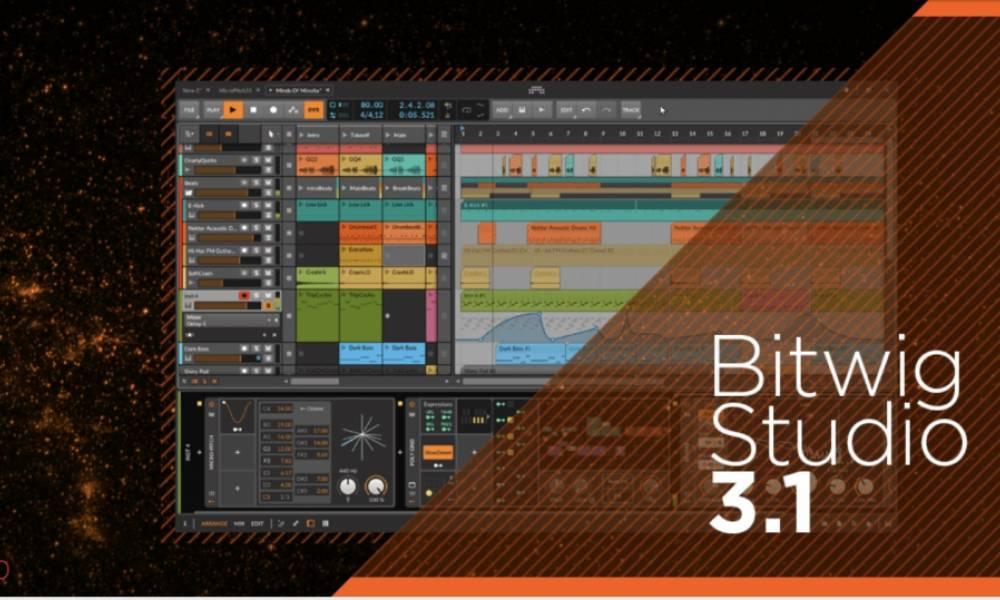 Bitwig Sudio 3.1 - возможности микротюнинга и многое другое