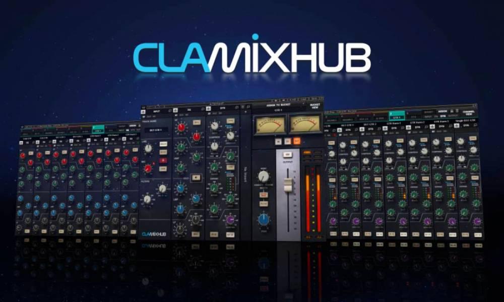 CLA MixHub: аналоговая консоль в вашей DAW