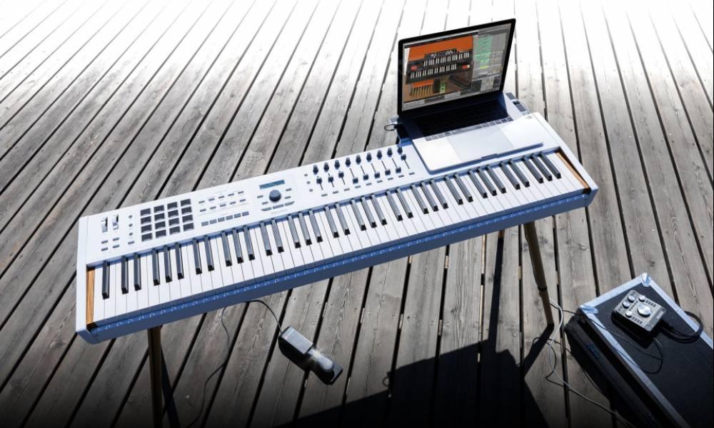 KeyLab 88 mkII: новый флагманский клавишный контроллер от Arturia
