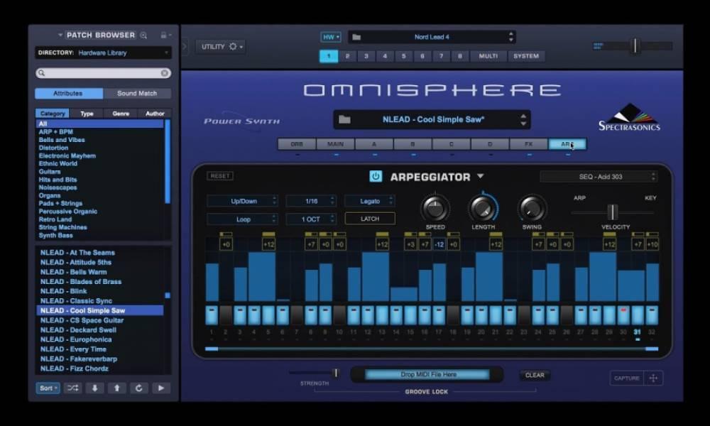 Spectrasonics Omnisphere обновлен до версии 2.6