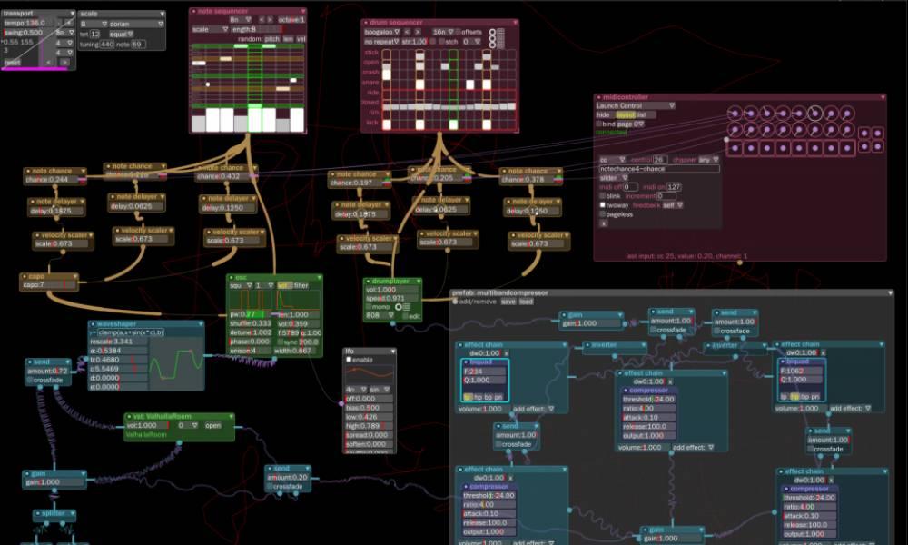 Bespoke: бесплатный софтовый модуляр от Ryan Challinor