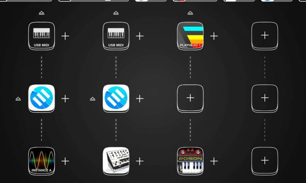 Audiobus для iOS теперь работает с MIDI-контроллерами