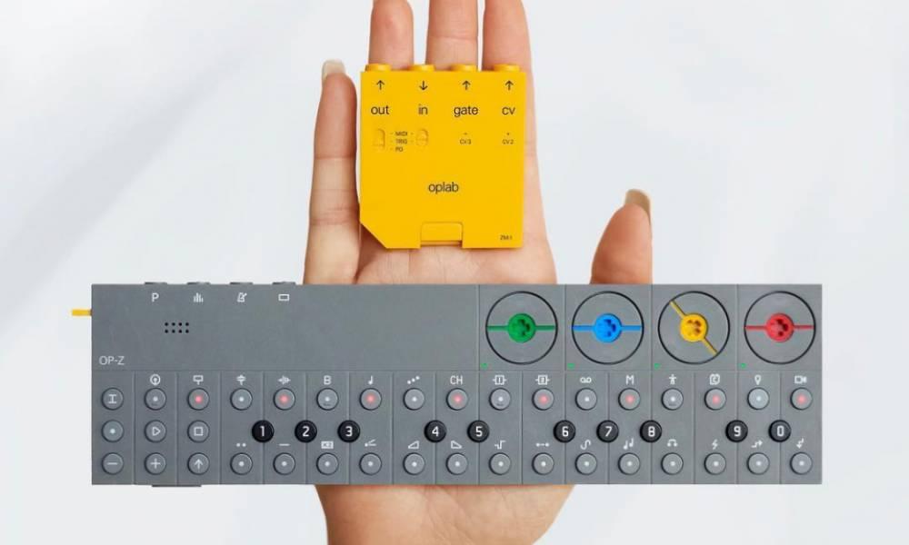 Oplab: CV, MIDI и TRIG плата для Teenage Engineering OP-Z