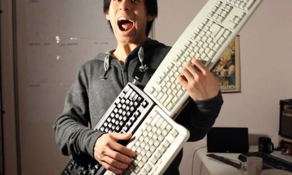 Делаем ножной MIDI-контроллер из старой клавиатуры