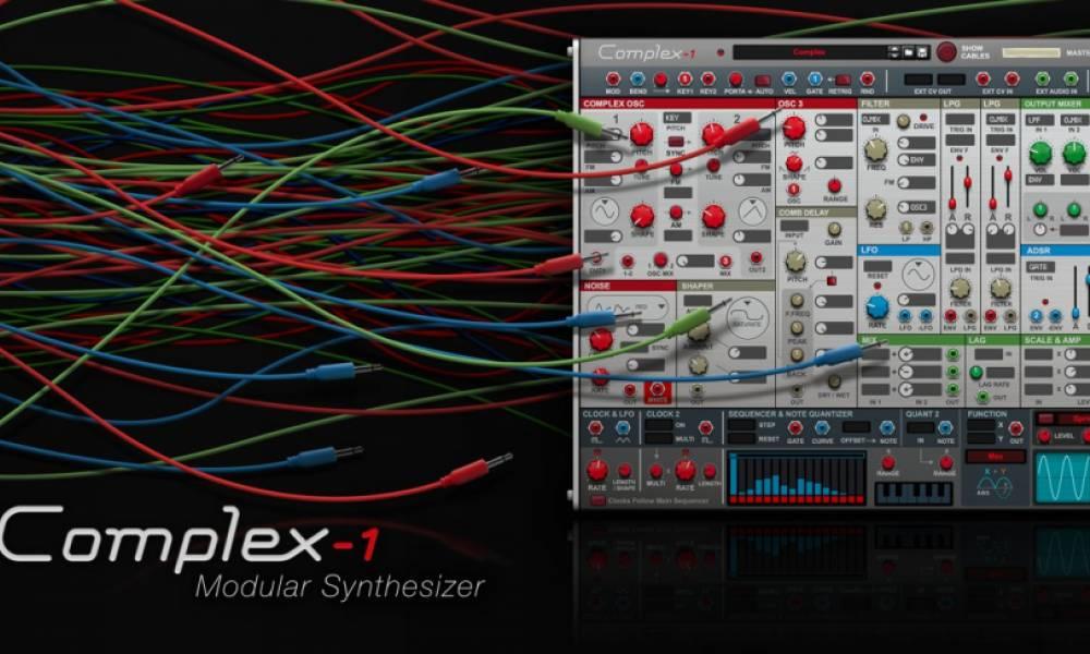 Complex-1: модульный синтезатор для Reason