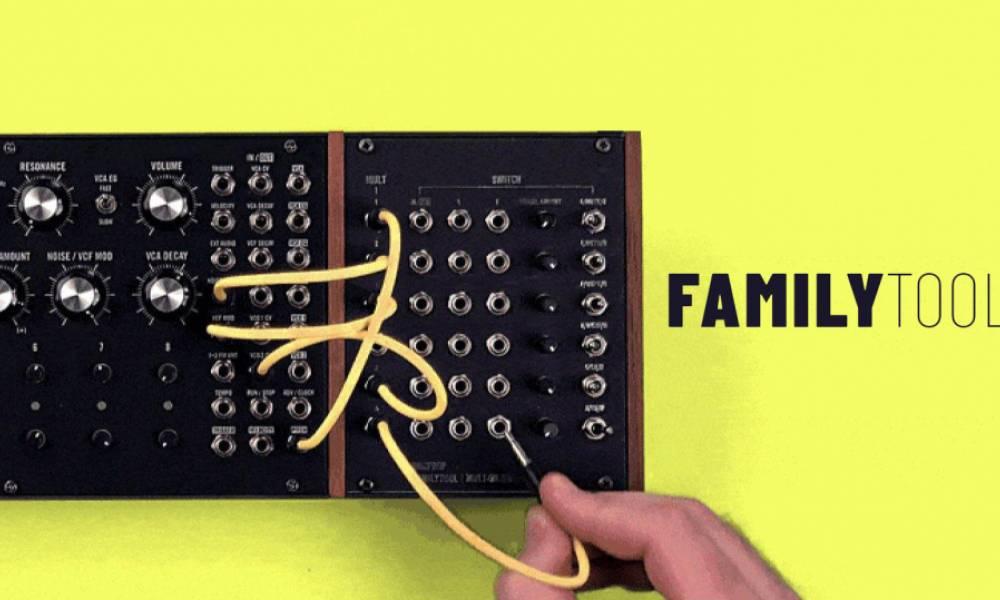 FamilyTool расширяет возможности Moog Mother 32 и DFAM
