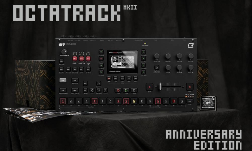 Elektron Octatrack MKII Anniversary Edition и новая прошивка 1.4