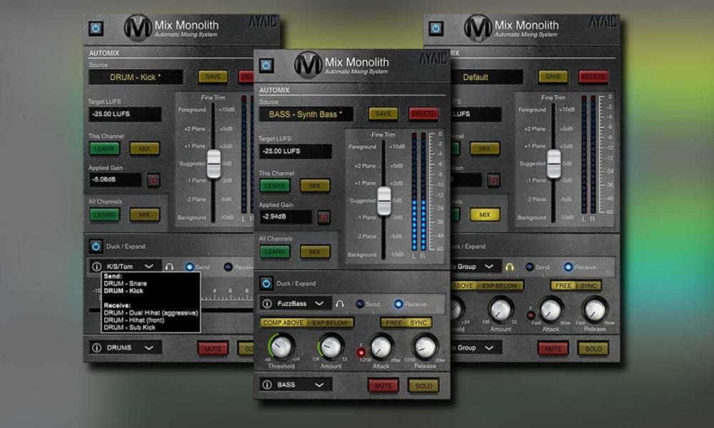 Плагин Mix Monolith от Ayaic автоматически сведёт ваши треки!