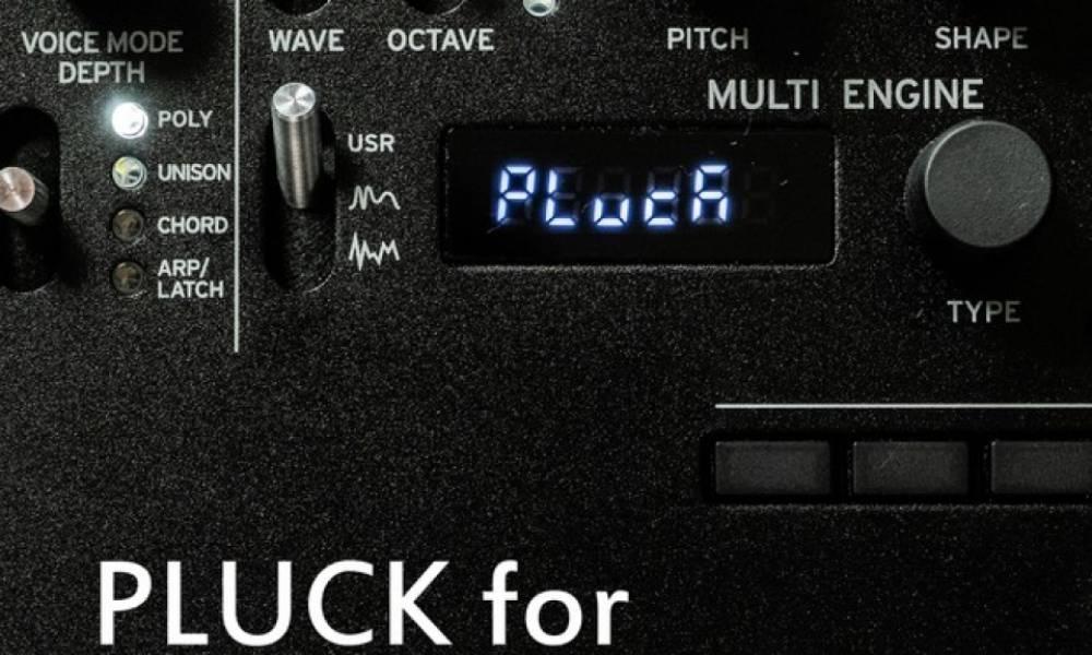 Осциллятор Pluck для Korg minilogue XD