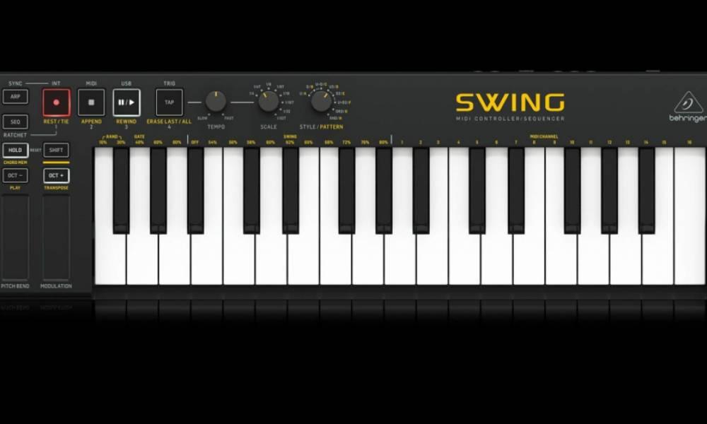 """Behringer изменили дизайн контроллера Swing... по """"политическим"""" причинам"""