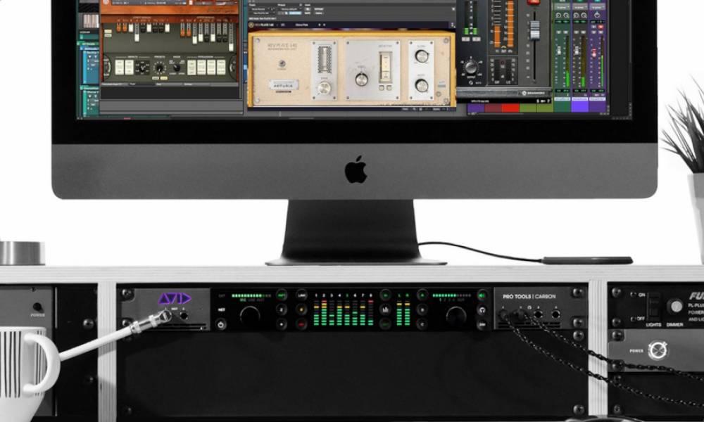Pro Tools Carbon - гибридный аудиоинтерфейс с DSP-процессором от Avid