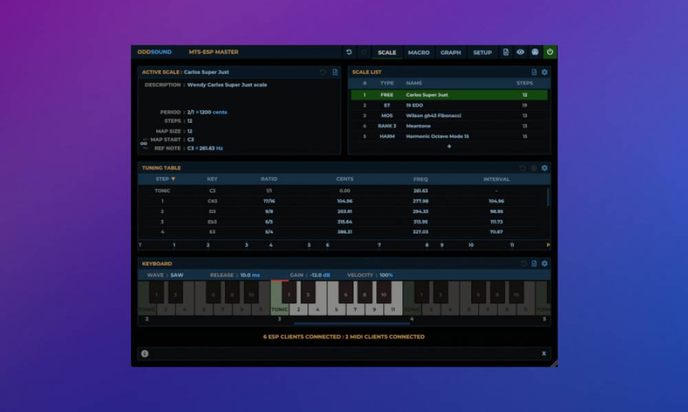"""Плагин MTS-ESP Suite позволит самостоятельно """"настраивать"""" ваши инструменты."""