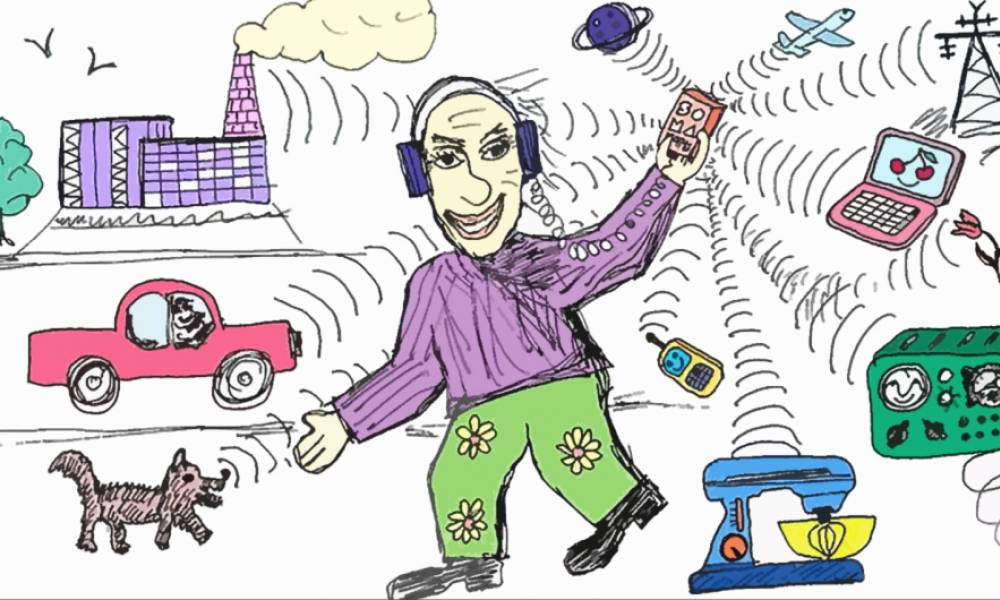 Soma Ether: радиоприемник наоборот!