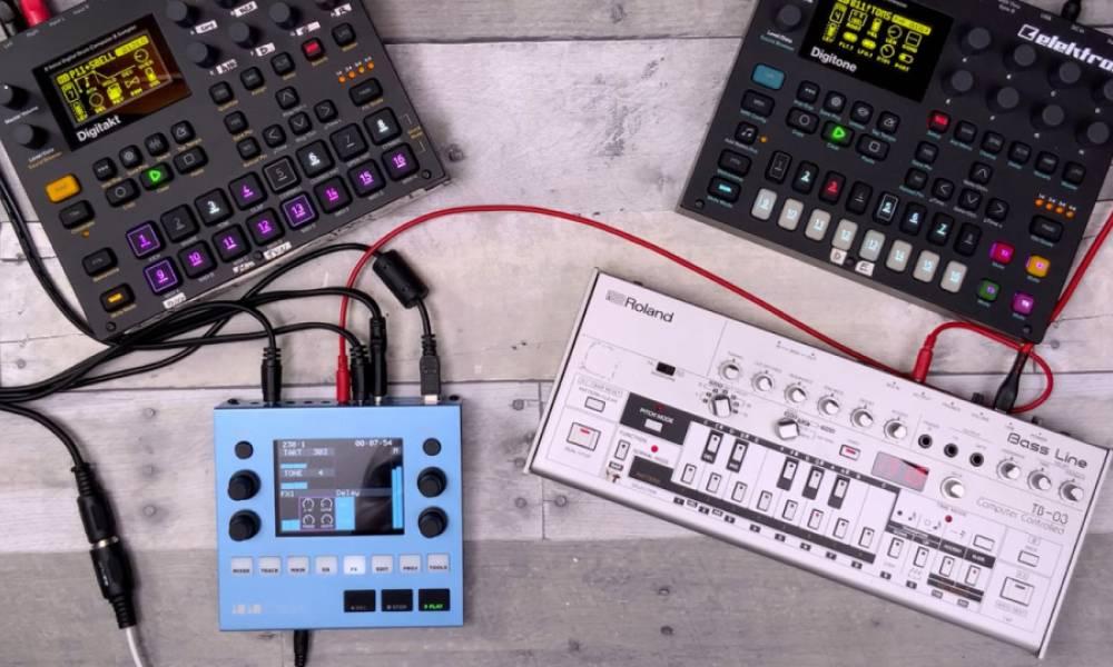 1010music Bluebox - карманный цифровой микшер для лайверов