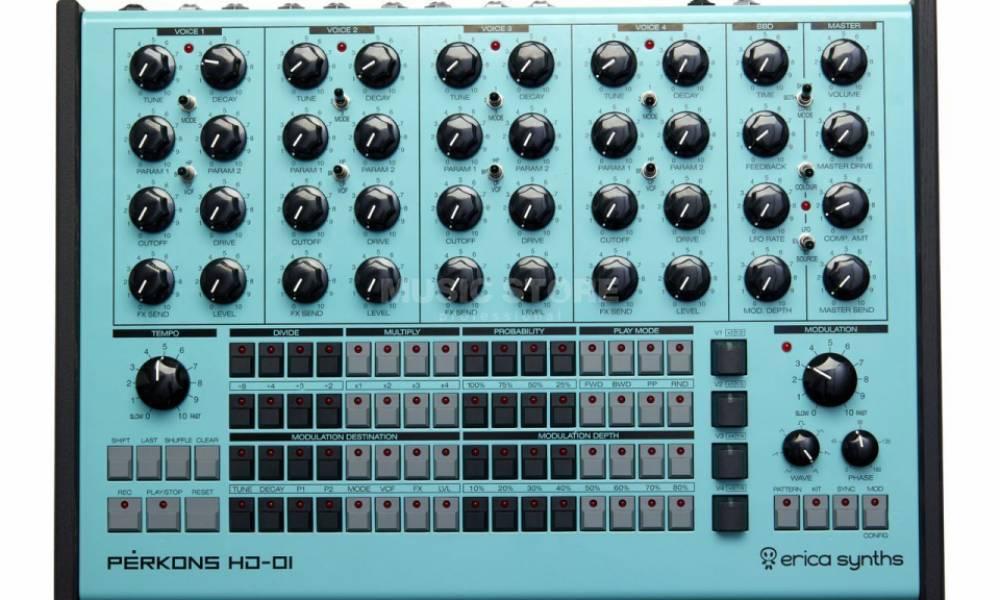 Perkons HD-01: перкуссионный синтезатор от Erica Synths