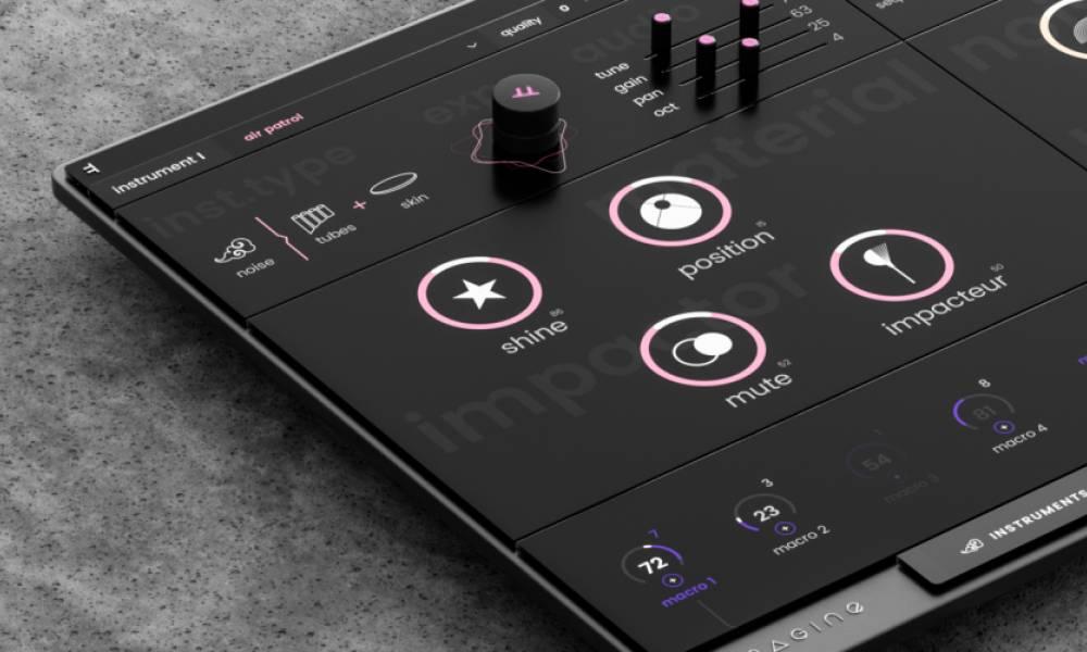 Imagine - визуальный физмоделирующий синтезатор от Expressive E