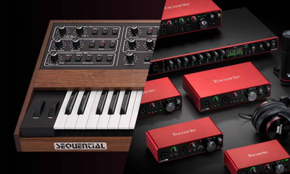 Компания Focusrite купила бренд Sequential (Dave Smith Instruments)