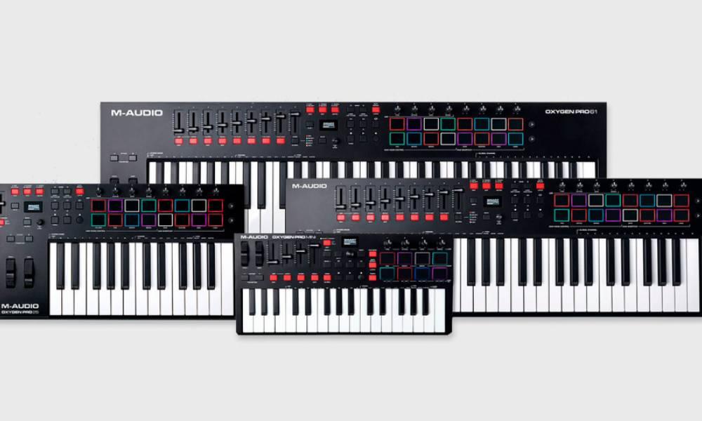 M-audio Oxygen Pro - новая линейка клавишных MIDI-контроллеров