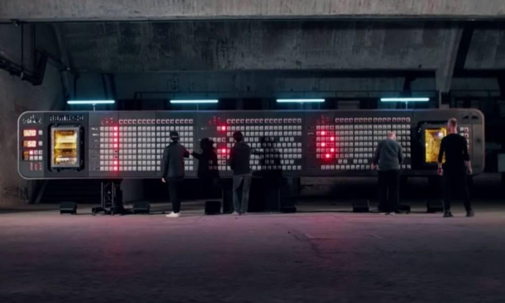 Самый большой в мире секвенсор от Symbiz и INSTANT (видео)