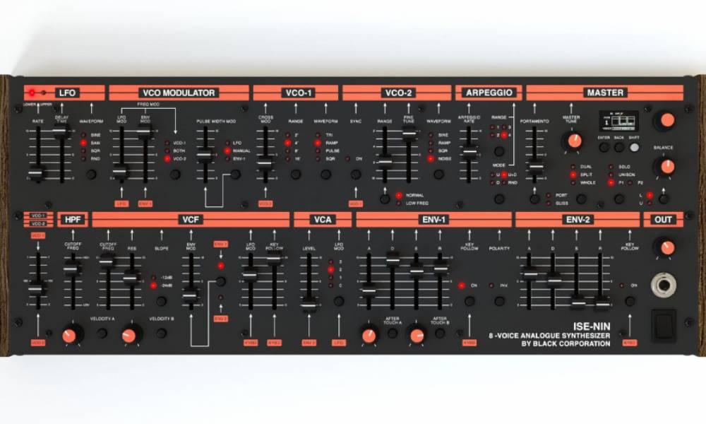 ISE-NIN: современный клон Roland Jupiter 8 от Романа Филиппова