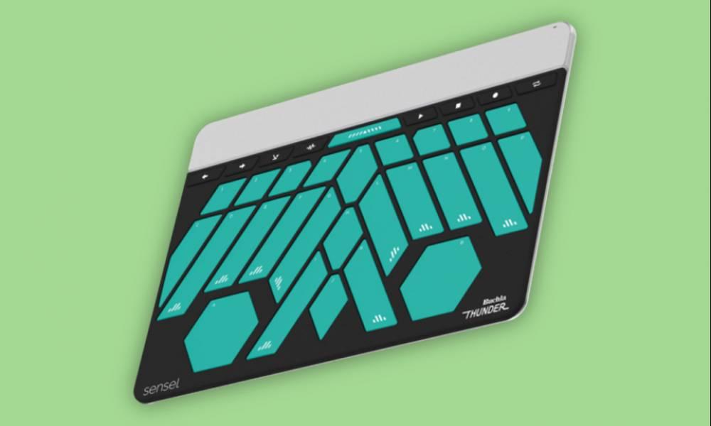 Buchla Thunder: новая накладка для контроллера Sensel Morph