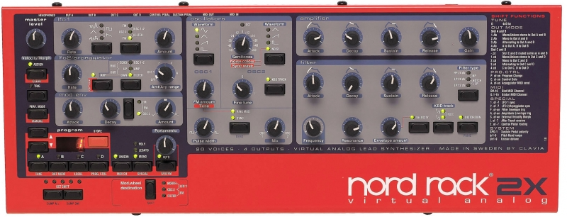 Clavia Nord Rack 2x