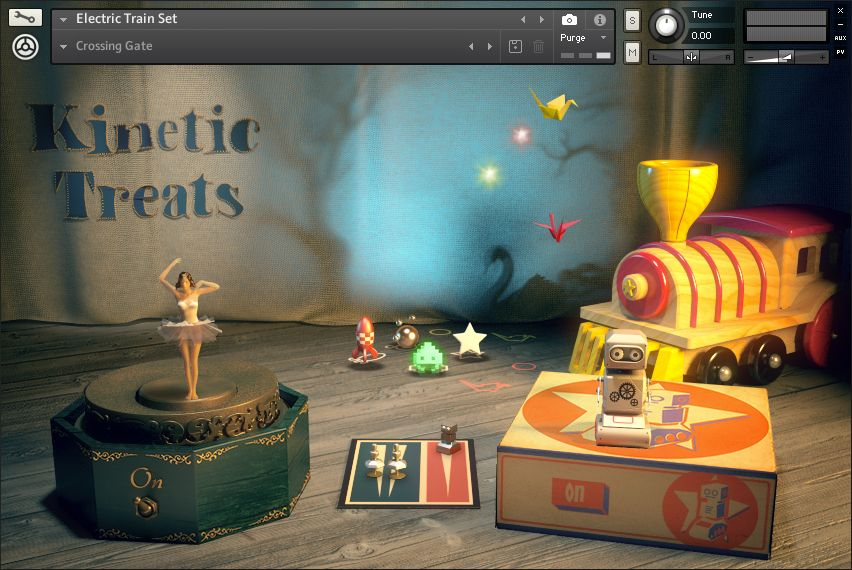 NI KOMPLETE KINETIC TREATS screenshot