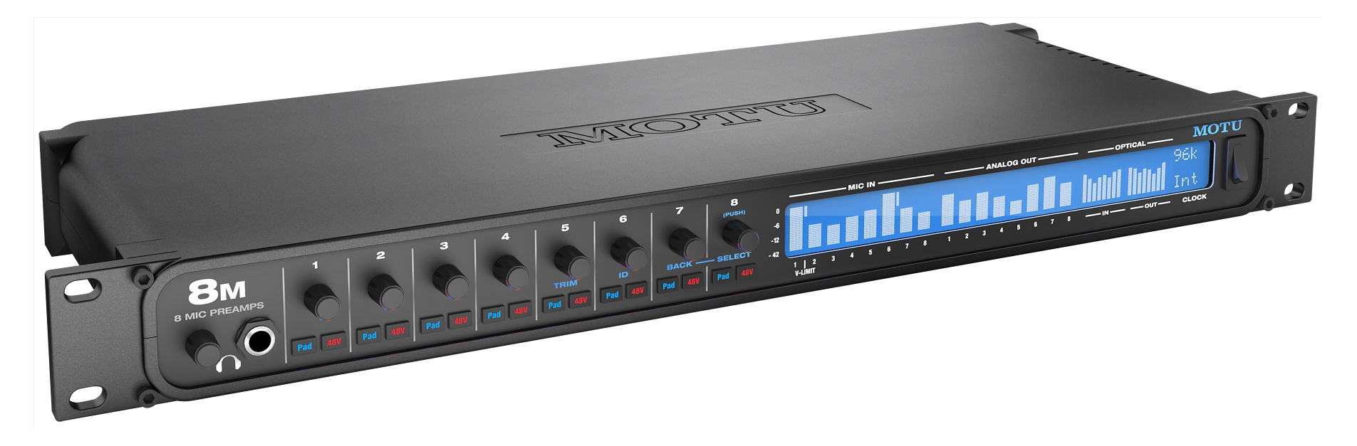 WEB Image MOTU 8M TB   USB2 Audio interface  8 Pre-2037462615